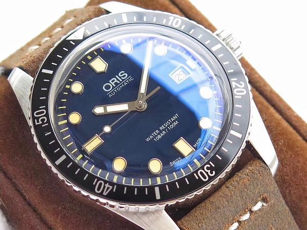 ORIS DIVERS SIXTY-FIVE 42 BLUE
