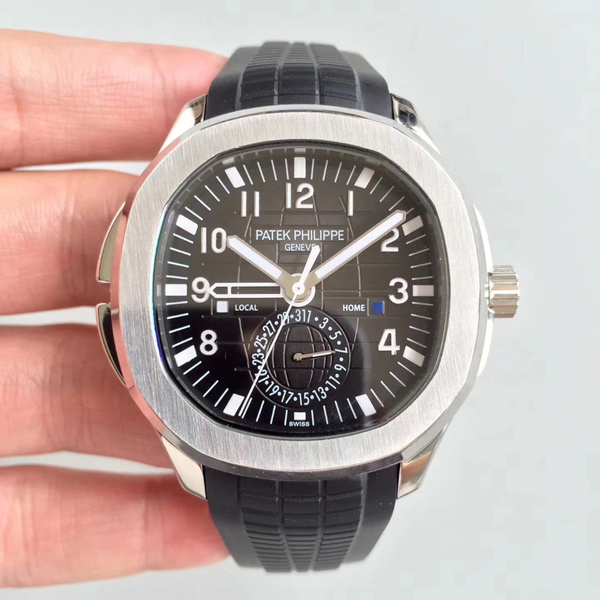 PATEK AQUANAUT TRAVEL TIME 5164 by FatPanda