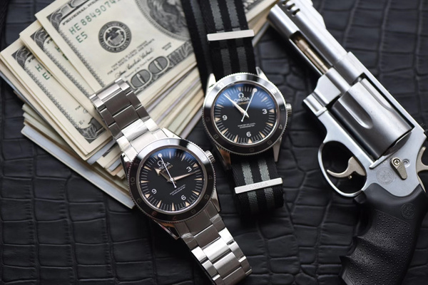 OMEGA SEAMSTER 300 SPECTRE LIMITED EDITION 007 (VS) by...