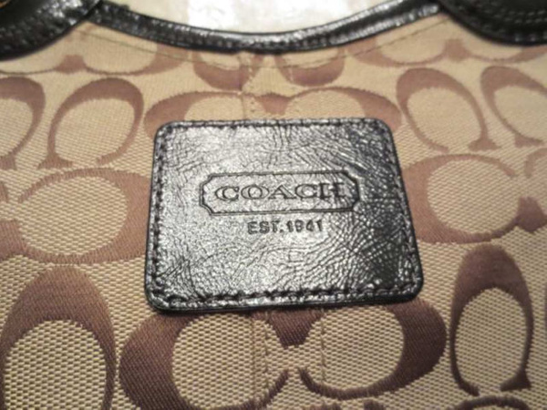 S-01 Sac COACH authentique (taille : 18 po par 10 po approx.) 65 $ by Mamzelle M.
