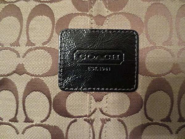 S-01 Sac COACH authentique (taille : 18 po par 10 po approx.) 65 $ by Mamzelle M.