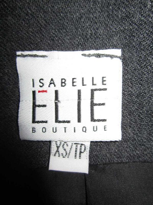 V-11 Veste designer québécoise Isabelle Élie (taille XS) 45 $