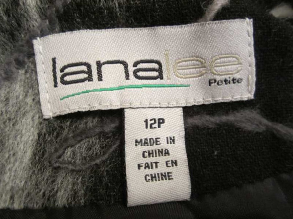 V-08 Veste avec filsl de lainage brodés (taille 12 P) 35 $ by Mamzelle M.
