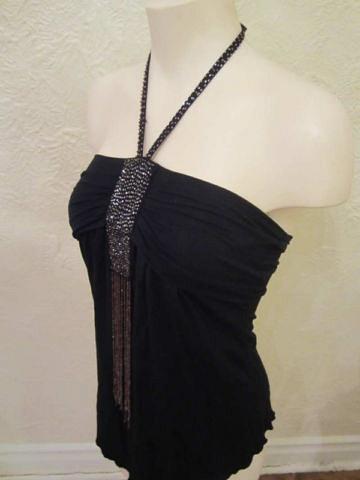 HSM-06 Haut avec petites perles brodées (taille S) 20$
