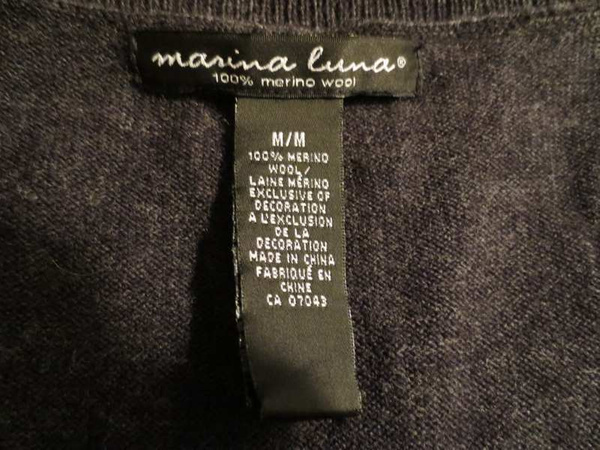 HML-14 vese en lainage (taille M) 10$ by Mamzelle M.