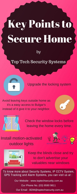 Key Points to Secure Home