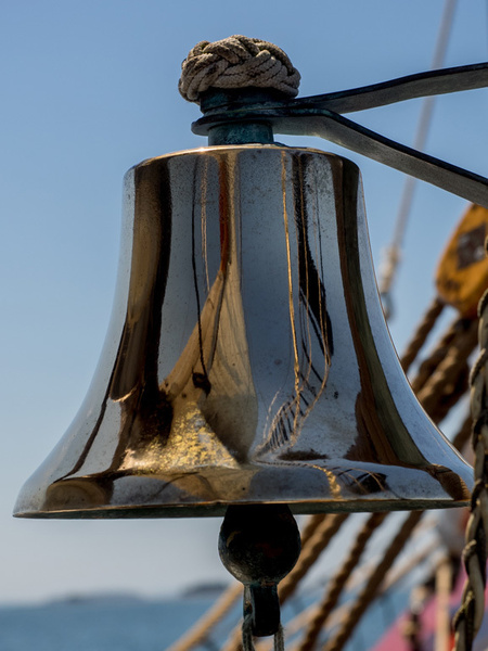 6 Reflections in the Ship's Bell- by SusanAudette91359