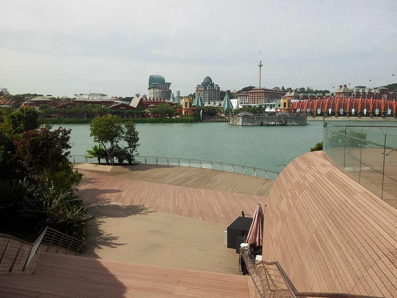 View from Sentosa Board Walk
