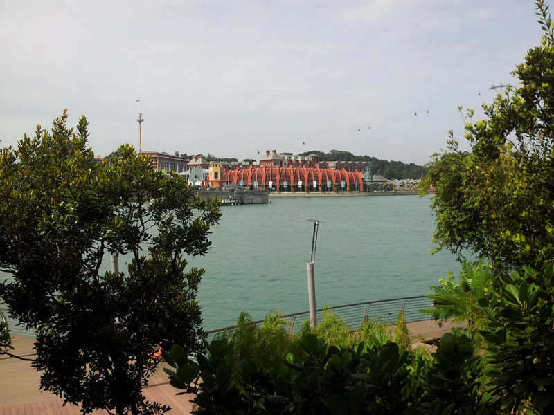 View from Sentosa Board