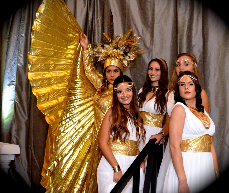 Princesas Griegas & Dama de Oro