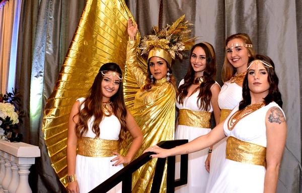Princesas Griegas & Dama de Oro by Natallia Lovera by Novenas