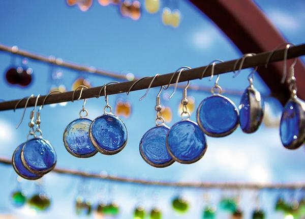 Blue earrings by Regina3