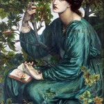 Rossetti's paintings (with Jane Morris as a model)