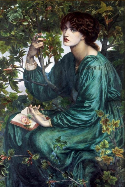 Rossetti's paintings (with Jane Morris as a model) by Regina3