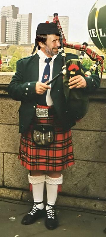 Leopold als Schotte
