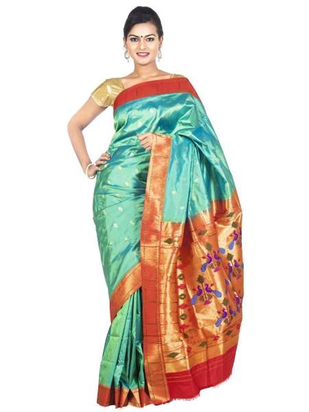 Muniya_border_paithani_saree