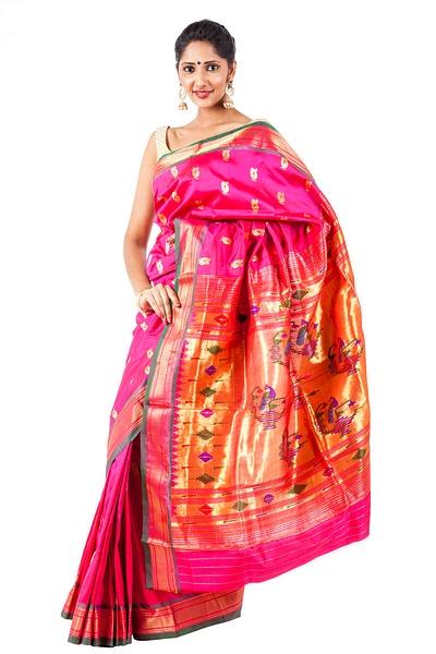 Maharashtrian_paithani_sarees by OnlyPaithani