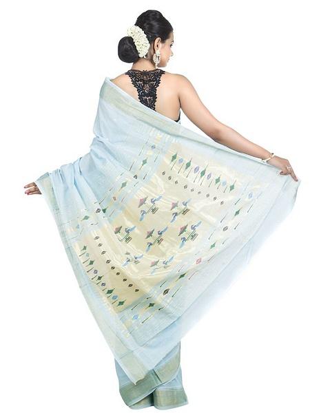 Cotton_paithani_sarees by OnlyPaithani
