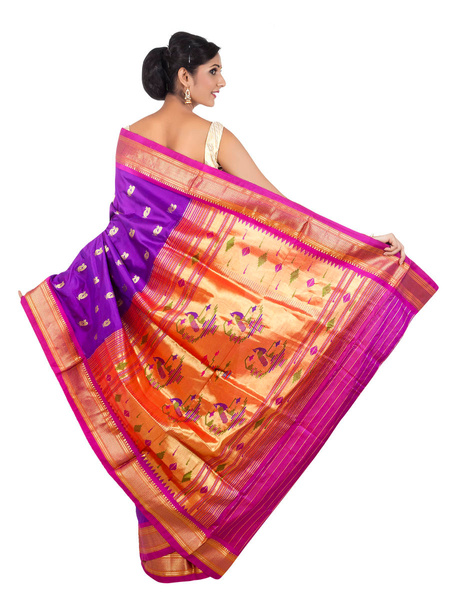 Bridal_wedding_saree by OnlyPaithani