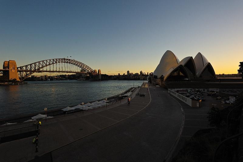Opera House at dawn - nikon 14 - 24mm f2.8
