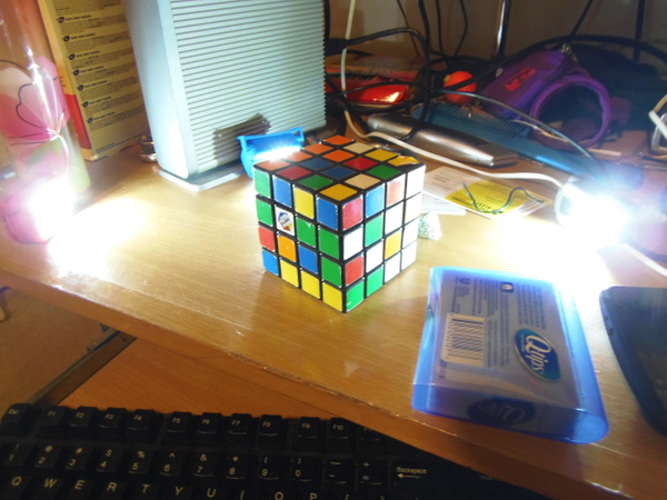 Rubiks cube by 3vtapestry