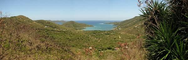 St John Coral Bay Panorma
