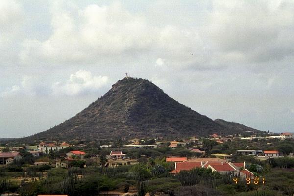 The tallest point on Aruba by Vernon Adams