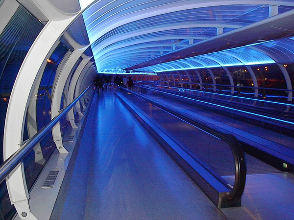 Manchester Airport by Vernon Adams