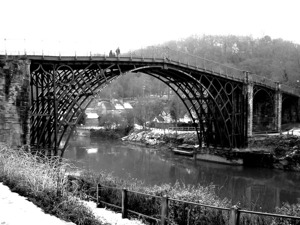 Iron Bridge by Vernon Adams