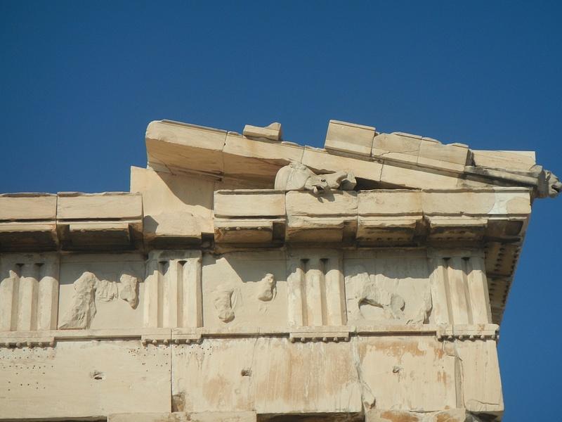 The Parthenon (detail)