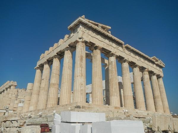 The Parthenon by Vernon Adams