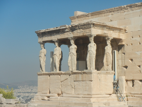 The Erechtheum by Vernon Adams