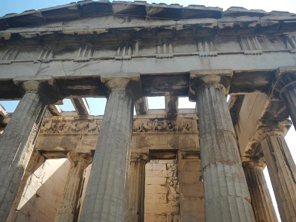 Temple of Hephaestus by Vernon Adams
