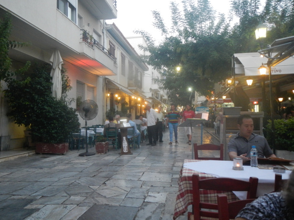 The Plaka (Athens, GR) by Vernon Adams