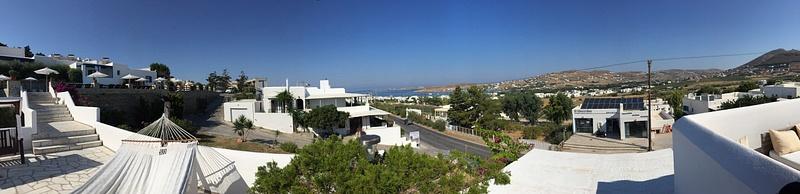 Our hotel on Paros