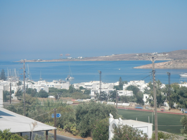 View from our hotel on Paros by Vernon Adams