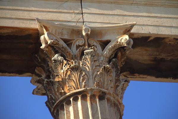 Temple to Zeus by Vernon Adams
