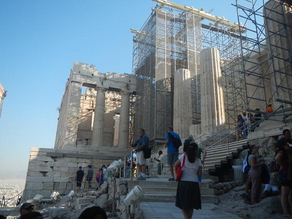 Acropolis (The Propylaea) by Vernon Adams
