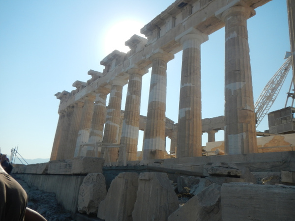 The Parthenon by Vernon Adams