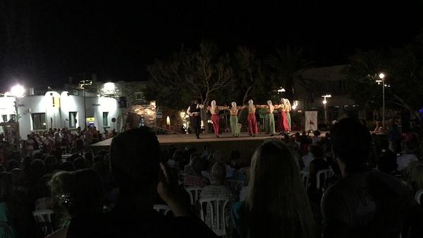 Folk Dancing by Vernon Adams