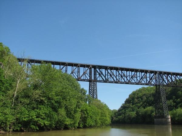 High Bridge over Kentucky River by Vernon Adams