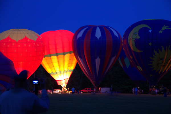 Balloon Glow by Vernon Adams