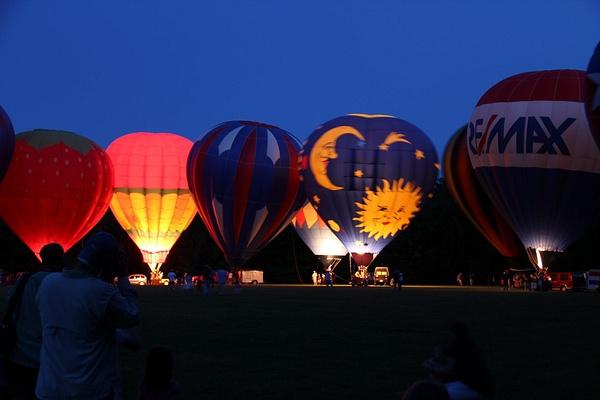 Balloon Glow by Vernon Adams