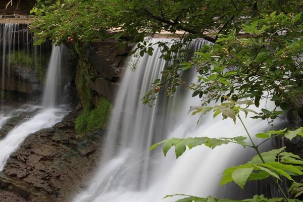 Chagrin Falls by Vernon Adams