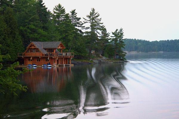 Lake Joseph by Vernon Adams