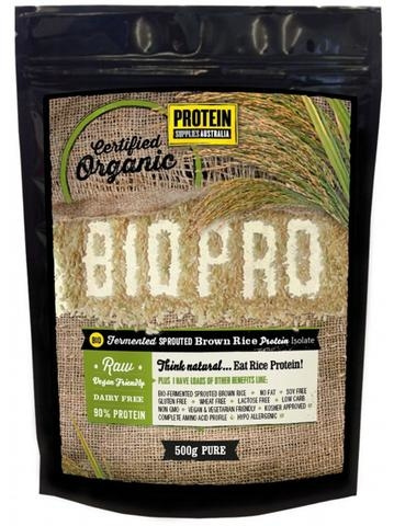 BIO PRO GLUTEN FREE ORGANIC SPROUTED BROWN RICE PROTEIN by EarthyLiving