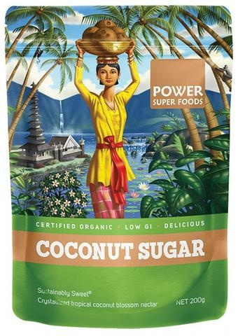POWER SUPER FOODS COCONUT PALM SUGAR by EarthyLiving