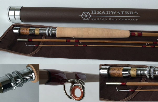 Bamboo Fly Fishing Rods by Headwaters Bamboo Rod Co.