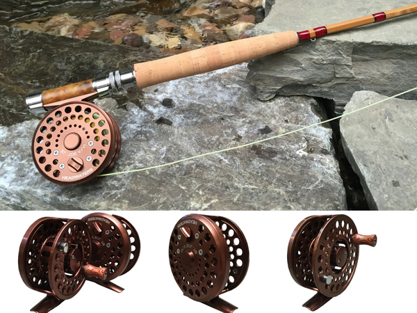 Classic Machined Fly Reels by Headwaters Bamboo Rod Co.