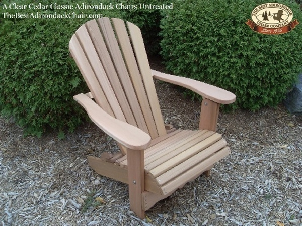 Cedar Adirondack Chair by EdMacdonald